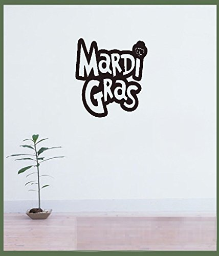 wandaufkleber küche Removable Vinyl Art Decal Mardi Gras for living room/bedroom home ()