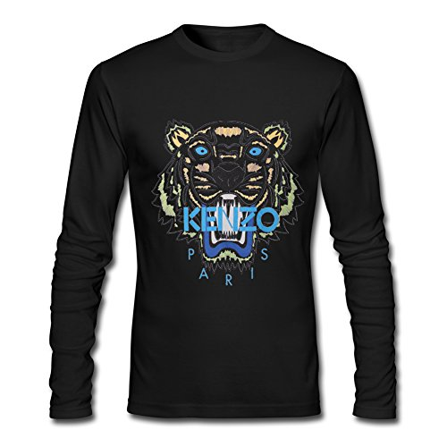 NEW KENZO For 2016 Mens Printed Long Sleeve tops t shirts