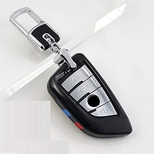 XUWLM Schlüsselanhänger ABS Autoschlüssel Cover Case Plating Fernbedienung Schlüssel Tasche Halter für BMW X1 X5 X6 F15 F16 F48 BMW 1/2 Series Klinge Schlüsselanhänger, Stil 4 -