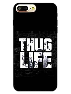 iPhone 7 Plus Cases & Covers - Thug Life - Typography - Designer Printed Hard Shell Case