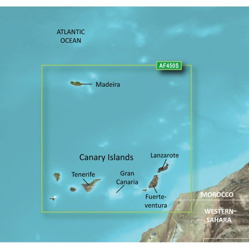 GARMIN VAF450S MADEIRA AND CANARY ISLANDS G2 VISION SD G2 Vision-sd-karte