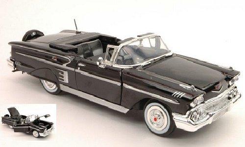 motormax-mtm73267bk-chevrolet-impala-1958-black-124-modellino-die-cast-model