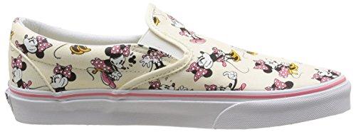 Vans VZMRFJH, Unisex Adults' Low-Top Sneakers, Multicolor (disney / minnie Mouse / classic White), 4.5 UK (37 EU)