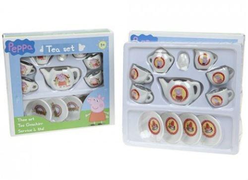 1 X Peppa Pig 13 Stück Tea Party spielen Set Geschenk Spielzeug