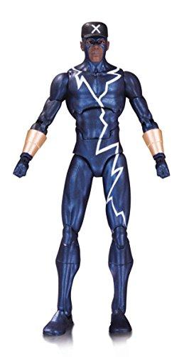 DC Comics Icons Static. Figura de acción de 15 cm, articulada de brazos, piernas y pies. Su traje típico de Superhéroe está acabado con todo lujo de detalles y accesorios a juego. Ideal para coleccionistas.