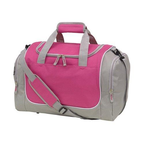 Kindersporttasche/Sporttasche-pink /grau 48cm