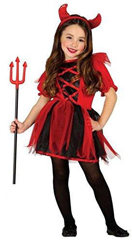 Imagen de disfraz de diablesa traviesa para niña  5 6 años