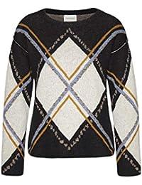 0a6787bcf105 armedangels Damen Pullover aus Bio-Woll Mix - Jella Rhombic - GOTS, Organic,
