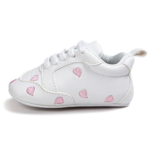 Covermason Kleinkind Baby Weiche Sohle Schuhe Turnschuhe Krippeschuhe Rosa 2