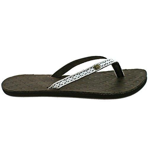 Urban Beach - Iona Leather Flip Flops, Sandali Donna Brown (Brown)