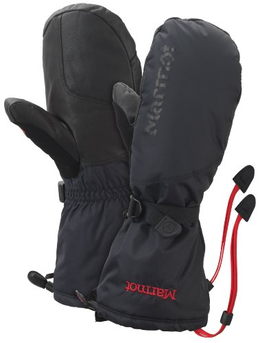 Marmot Herren Mitten Expedition Mitt, Black, L, 16380-001