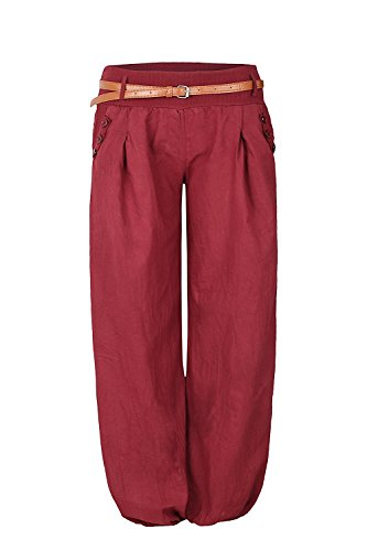 Mr.Shine Chino Pumphose Gr. S-XL (XL, Bordeaux)