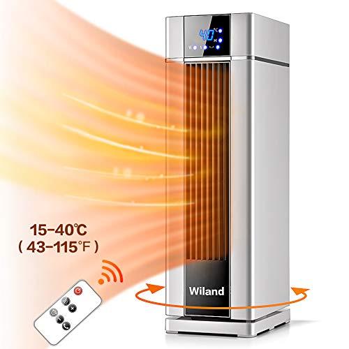 Radiateur Chauffage ,2000W Chauffage électrique avec télécommande,8 H,chauffage rapide pour salon...
