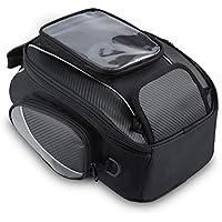 5293aa136c Bolsos Magnético Depósito Hombre para Motocicletas Impermeable Alforjas  Asiento de Moto Caja de Deporte al Aire
