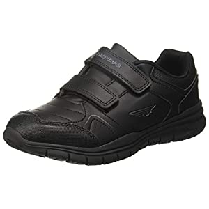 Red Tape Kids Unisex Black School Shoes