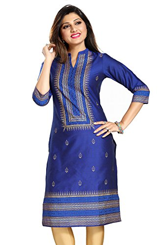 Meher Impex Printed Cotton Silk Kurti