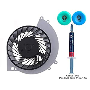ElecGear Replacement CPU Lüfter kompatibel mit Nintendo Switch – Intern Reparatur Ersatzkühler Ventilator Kühler Cooling Fan, Thermo Paste, Y00 Triwing und PH00 Driver Set