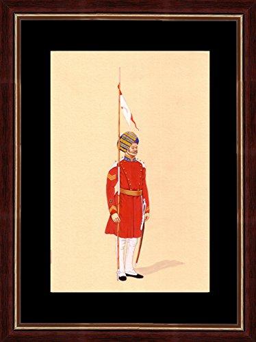 splendid-indian-art-1912-garde-du-corps-indien-peinture-miniature-socit-priode-soldat-gouverneur-gnr