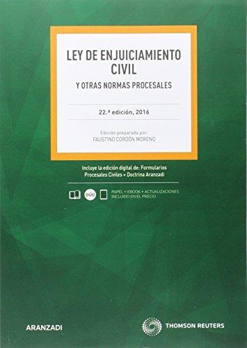 Ley de Enjuiciamiento Civil (22 ed. - 2016) (Código Básico)