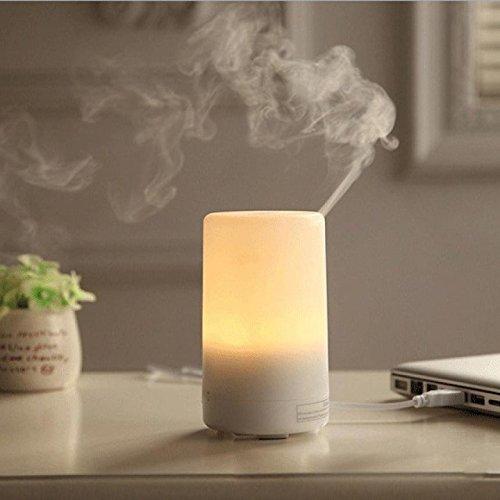 LN Keine Weihrauch Maschine Mini Usb Luftbefeuchter Kreative Produkte Leise Luftreiniger Aroma Lampe,Weiß
