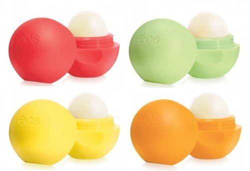 Evolution of Smooth EOS Lip Balm 4 pack Set - Summer Fruit Lemon Drop Tangerine Honeydew  available at amazon for Rs.3265