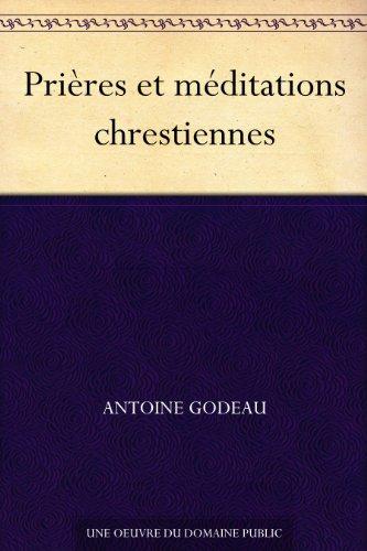 Couverture du livre Prières et méditations chrestiennes