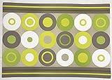 Crazy Dots grün Tee Papier Tischsets (Set von 100)