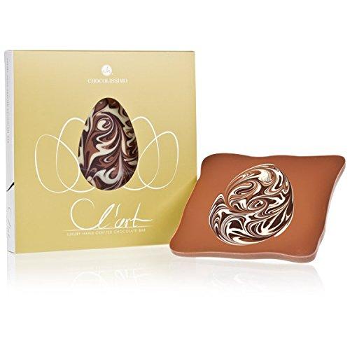 Schokoladentafel L´Art - Osterei - Schokoladentafel zu Ostern | Osterschokolade | Ostergeschenk | Ostern Süßigkeiten | Alkoholfrei | ohne Alkohol | Ostergeschenke für Kinder und Erwachsene