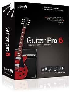 Guitar Pro 6 (Win/Mac/Linux) [import allemand]