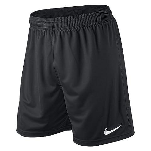 Nike Herren Shorts Park II Knit ohne Innenslip, schwarz, Gr. XXL, 448224-010