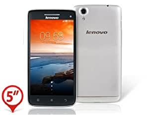 """Lenovo VIBE X S960 Multi-language 5.0"""" Capacitive IPS Corning III Gorilla Glass Touch Screen 1920x1080 Android 4.2 MTK6589T Quad-core 1.5GHz 2GB RAM & 16GB ROM 3G Smartphone Phablet with Bluetooth, Wi-Fi & A-GPS (Silver)"""