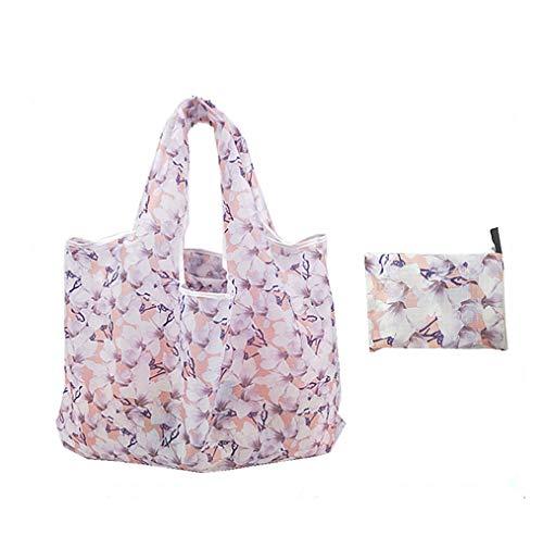 MLIAN Einkaufstasche, Polyester, Bedruckt, große Einkaufstasche, wiederverwendbar, faltbar, Strandtasche, Damen Fleur de Lis - Damen-fleur De Lis
