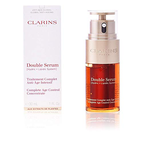 CLARINS DOUBLE SERUM [ HYDRIC + LIPIDIC SYSTEM ] COMPLETE AGE CONTROL 30 ML (50)
