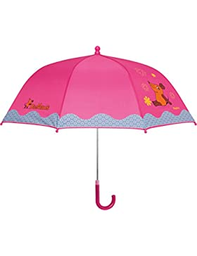 Playshoes DIE MAUS Mädchen Regenschirm MAUS Blümchen, Die Sendung mit der MAUS