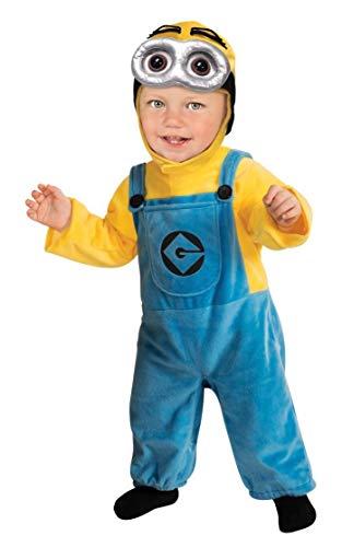 Kleinkind Minion Dave - Einfach unverbesserlich ME2 - Kinder-Kostüm (Minion Dave Kinder Kostüm)