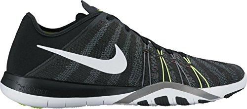 cd2cf8a8a57de Intersport Nike Wmns Nike Free Tr 6 - Black/White/Volt/Cool Grey, 6.5