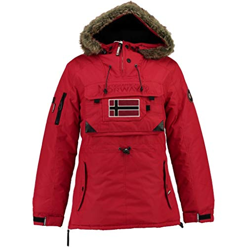 Geographical Norway Parka DE Mujer Baby ASSOR B Rojo 01