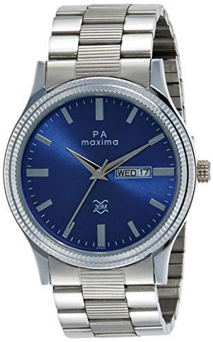 Maxima Analog Blue Dial Men's Watch - 49681CMGI