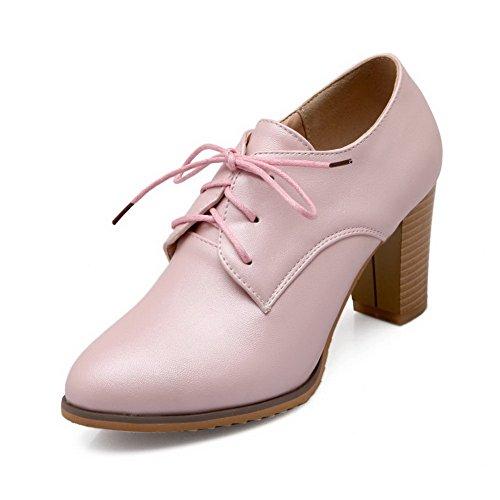 BalaMasa composito Imitated da donna, in pelle, per scarpe e pompe Pink