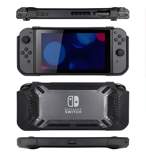 SnakeByte - Tough Case Black (Nintendo Switch)