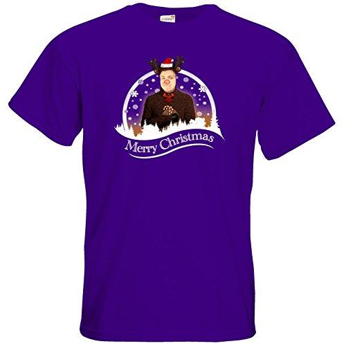 getshirts - Heidelwurst - T-Shirt - WeihnachtsCurry Purple