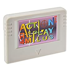 Action Replay 4M Plus for SEGA Saturn with 4 Megabyte Memory Card