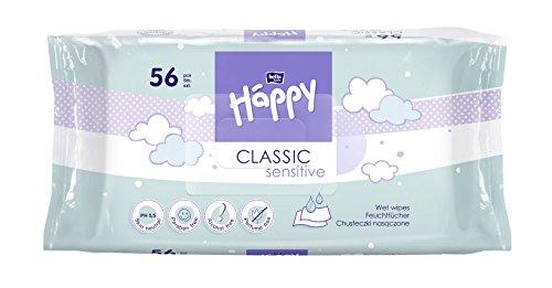 bella baby Happy Classic Feuchttücher Sensitive, 56 Stück