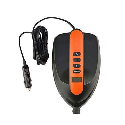 Sddlng Elektrische Luftpumpe - Auto 12V Hochspannung Dual Motor Haushaltsaufblasgerät Geeignet für aufblasbare Zellstoffplatte/PVC/SUP usw,M