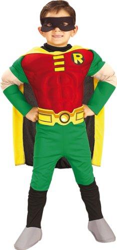 Batman Kinder Muskel Kostüm Robin Größe S - 116
