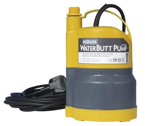 Hozelock 2826P1240 Pompe pour Récupérateur d'eau Jaune/Gris 50 x 40 x 30 cm