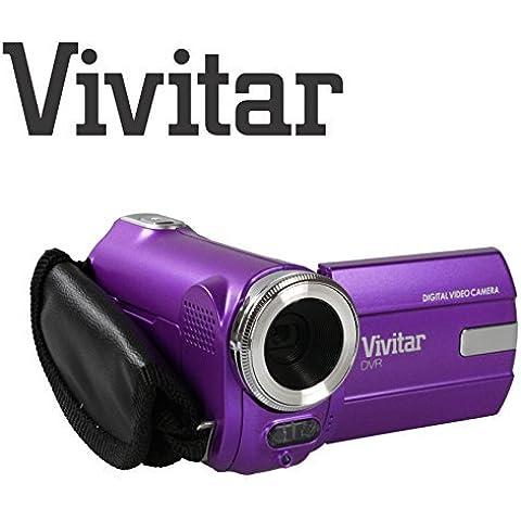 Bambini Videocamera fotocamera ultra compatta digitale Vivitar DVR908M 8 Megapixel Full HD 1080p fotocamera digitale da 8 megapixel (Viola)