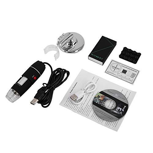 vcbbvghjghkhj-UK 1600X WiFi Digital Mikroskop USB Kamera Microscopio Elektronische Lupe-Schwarz 1600 Digital-kamera