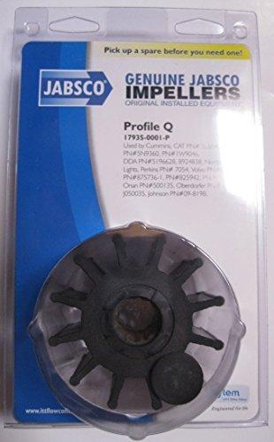 Jabsco 17935-0001P Marine Replacement Impeller (Neoprene, Q Silhouette, 2.5
