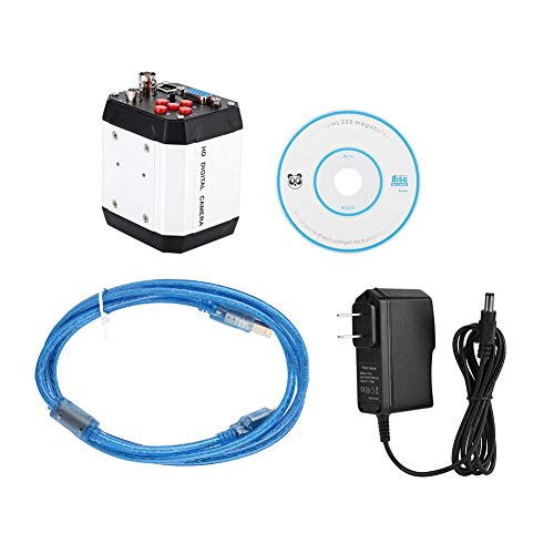 Wenhu 100-240V 2MP Industrie-Mikroskop-Kamera C-Mount Videokamera VGA USB-Schnittstelle CVBS Microscopio Digital-para